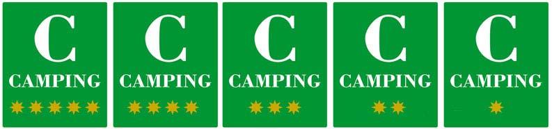 Categorías de los campings