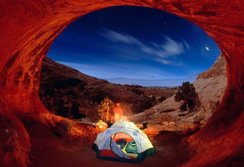 Camping en Arches