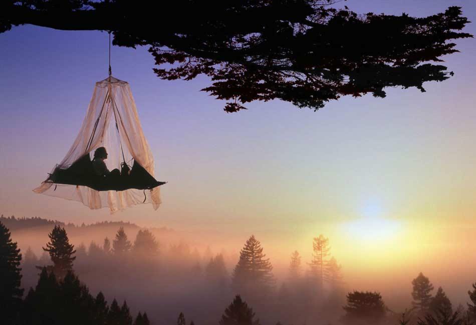 camping en árboles