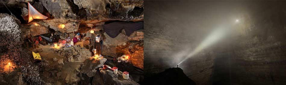 camping en cuevas