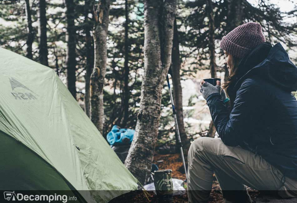 Formas de disfrutar del café en el camping