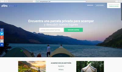 web de gamping.es