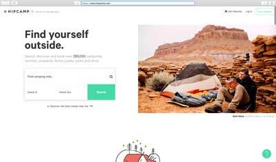 Gamping en gocampr.com