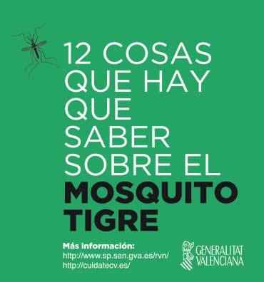12 cosas que hay que saber sobre el mosquito tigre