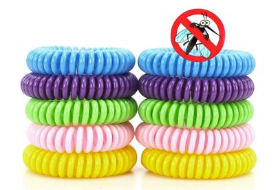 Pulseras antimosquitos