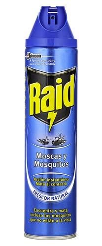 Spray Matamosquitos Raid