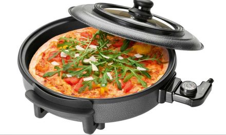 Análisis Pizza-pan: la sartén eléctrica para cocinar en el camping