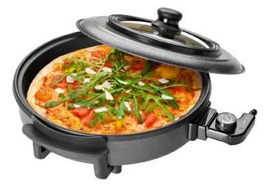 Sartén eléctrica Pizza pan Clatronic
