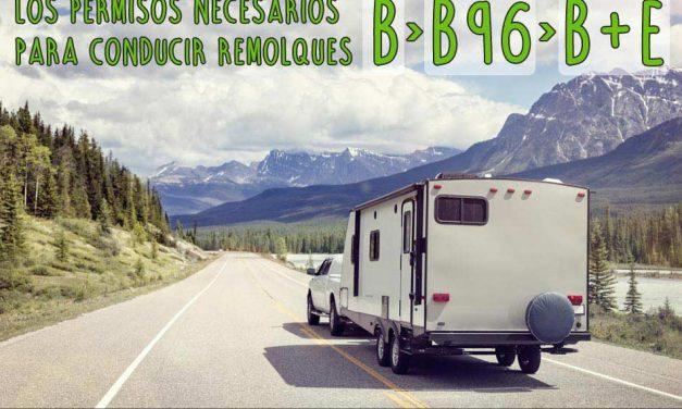 Carnet para conducir caravanas: todo sobre los permisos B, B96 y B+E
