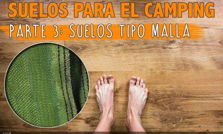 Suelos para el camping 3: suelos tipo malla
