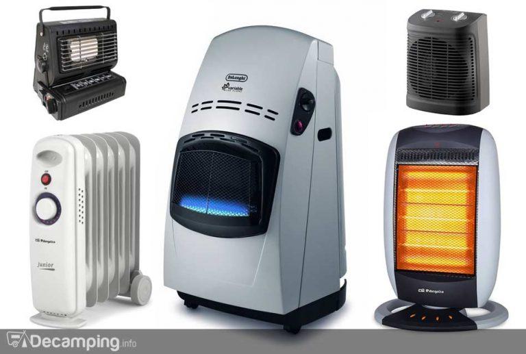 Calefacciones para el camping