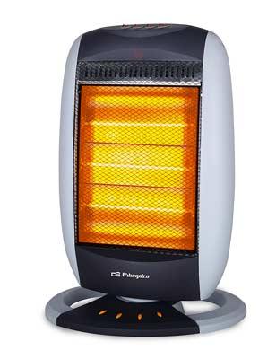 Calefacción para el camping Orbegozo