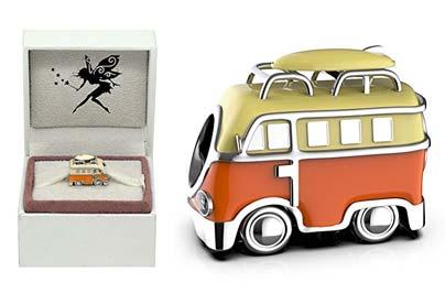 Abalorio de plata VW Camper