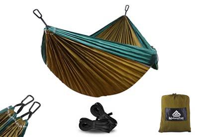 Hamaca camping ultraligera