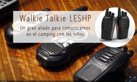 Walkie Talkie LESHP: un gran aliado para comunicarnos en el camping con los niños