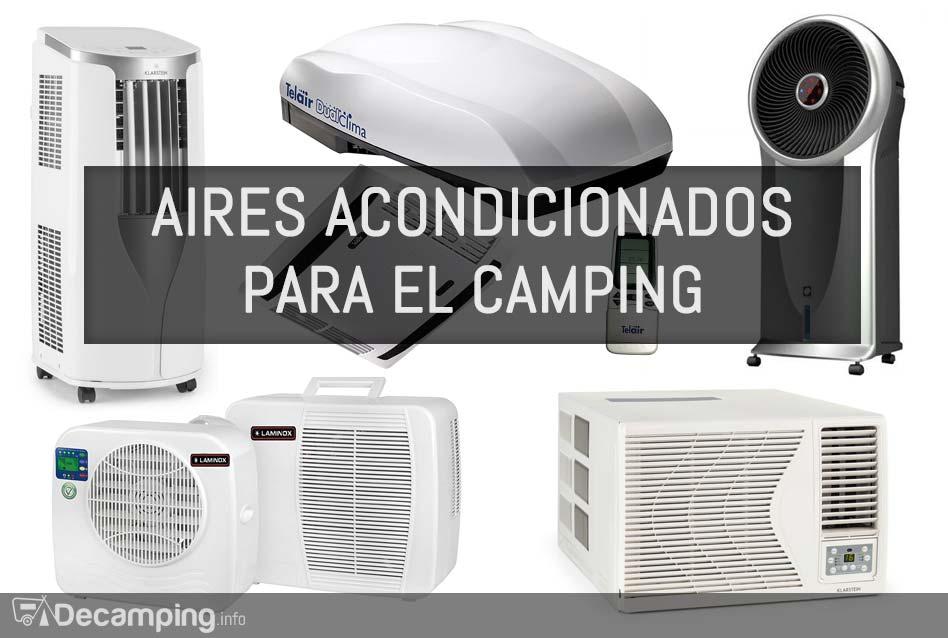 Aire acondicionado portátil para el camping