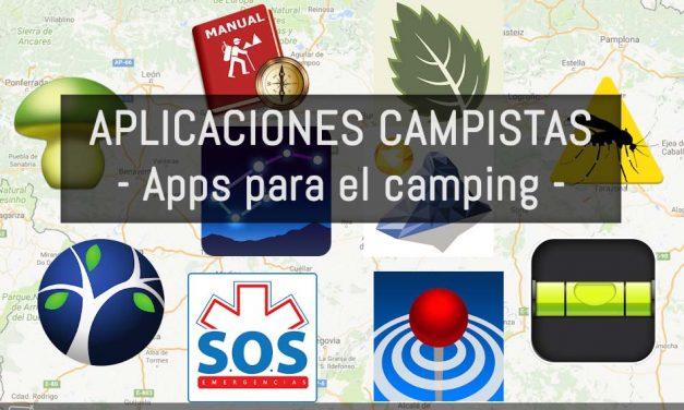Aplicaciones para campistas: Apps para el camping