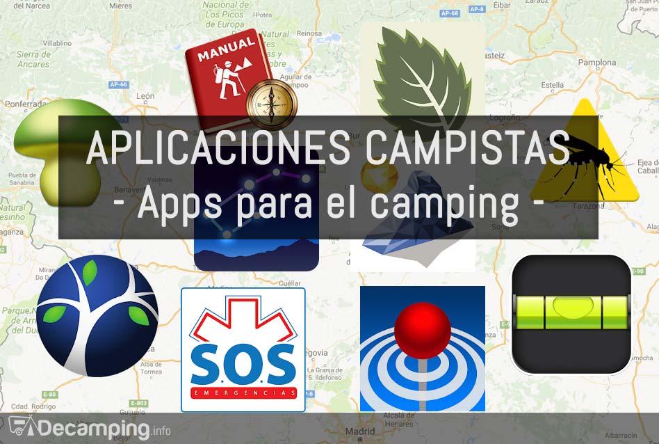 Aplicaciones móviles para el camping