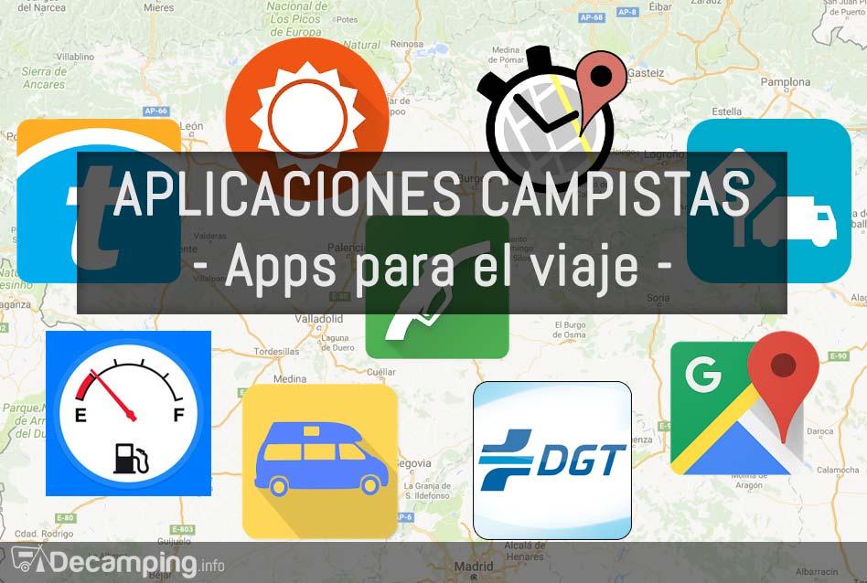 Aplicaciones para campistas: Apps para el viaje