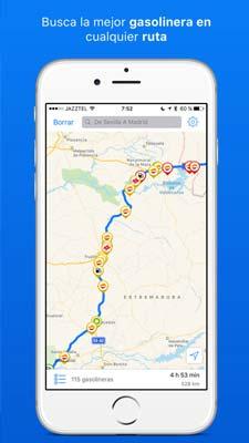 App para el camping - gasall gasolineras españa