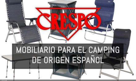 El mejor mobiliario para el camping se fabrica en España