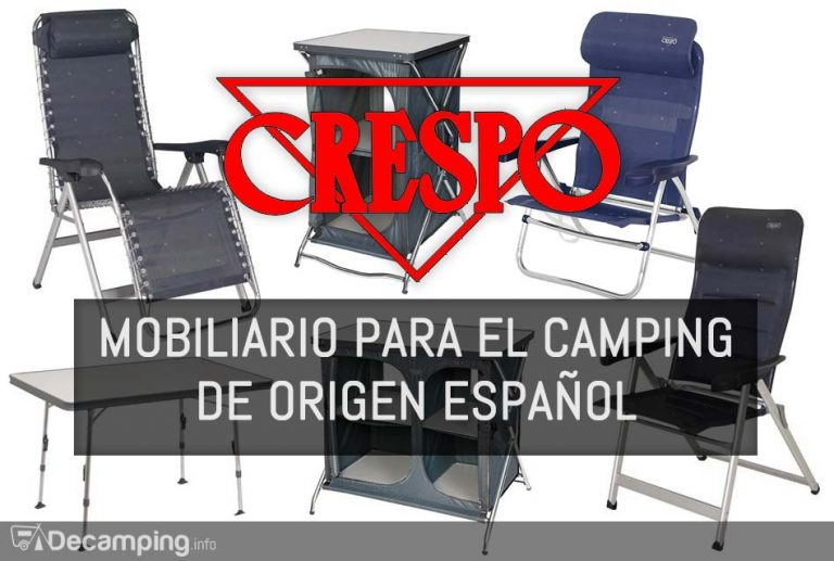 Mobiliario para el camping Crespo