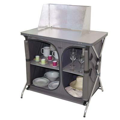 Mueble de cocina para el camping