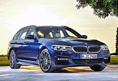 BMW 520d para tirar de caravana
