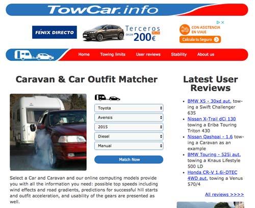 coche para tirar de caravana