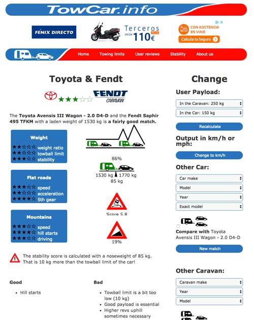 Tutorial TowCar.info - Paso 4 veredicto