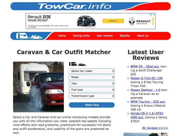Tutorial TowCar.info en Decamping.info
