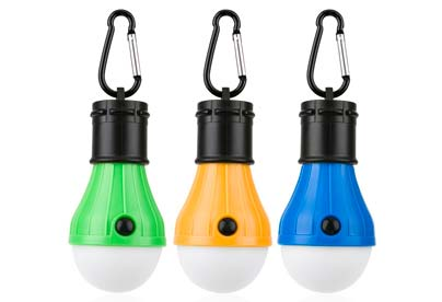 bombillas led para el camping