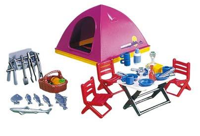 Juguetes de camping - Caseta de Playmobil