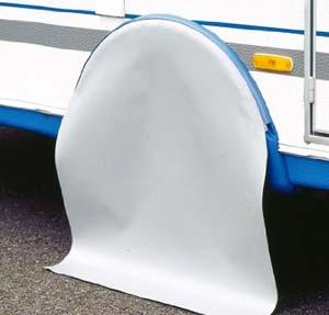 Cubre ruedas caravana