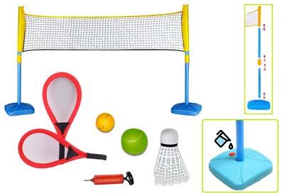 juegos de raqueta para el camping