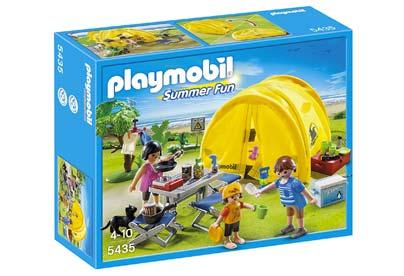 Tienda de campaña familiar de playmobil