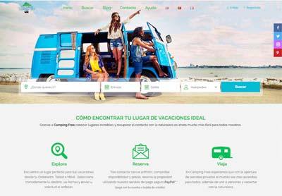 Buscador gamping Campingfree.es