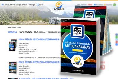 Guía de áreas de servicio para autocaravanas