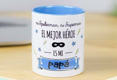 Taza ni spiderman ni superman