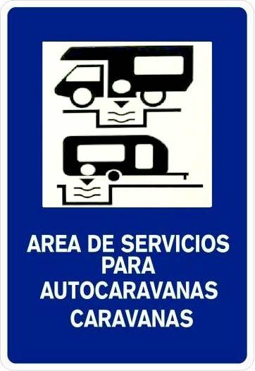 Áreas de servicio para autocaravanas y caravanas