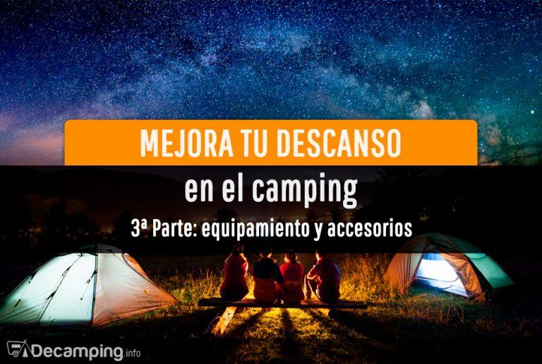 Accesorios para dormir mejor en el camping