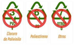 Plásticos no recomendados para reutilizar