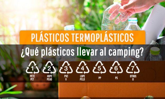 Tipos de plásticos y el ideal para el camping