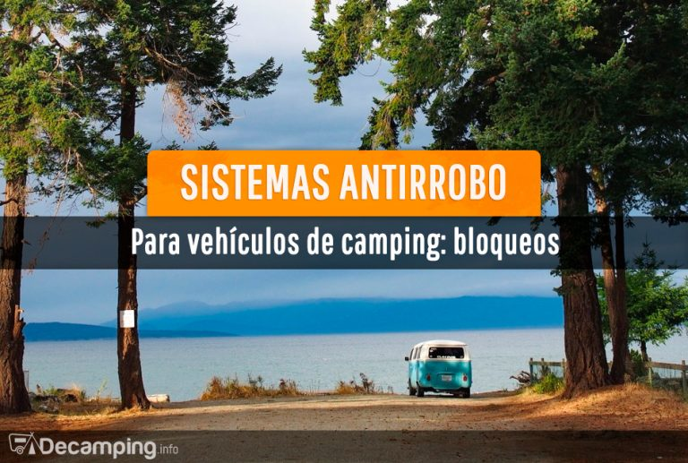 Sistemas antirrobo para vehículos de camping