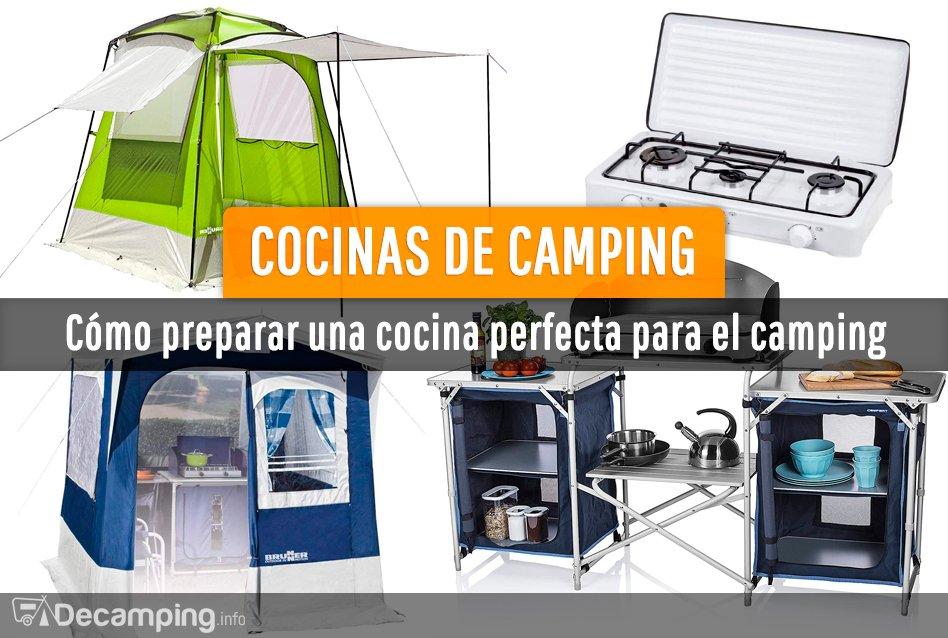 Cómo preparar una cocina para camping perfecta