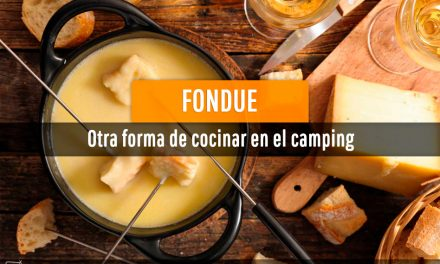 Fondue: otra forma de cocinar en el camping