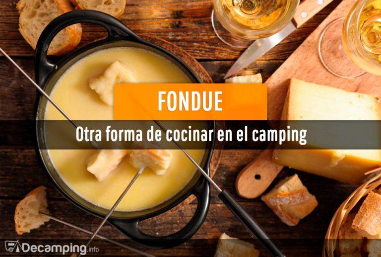 Fondue de camping