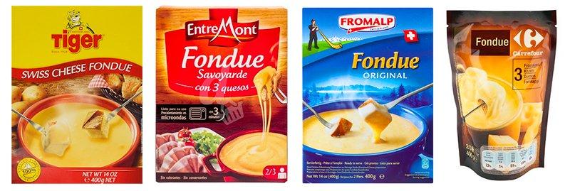 Preparado fondue supermercado