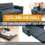 Sofá cama hinchable Intex